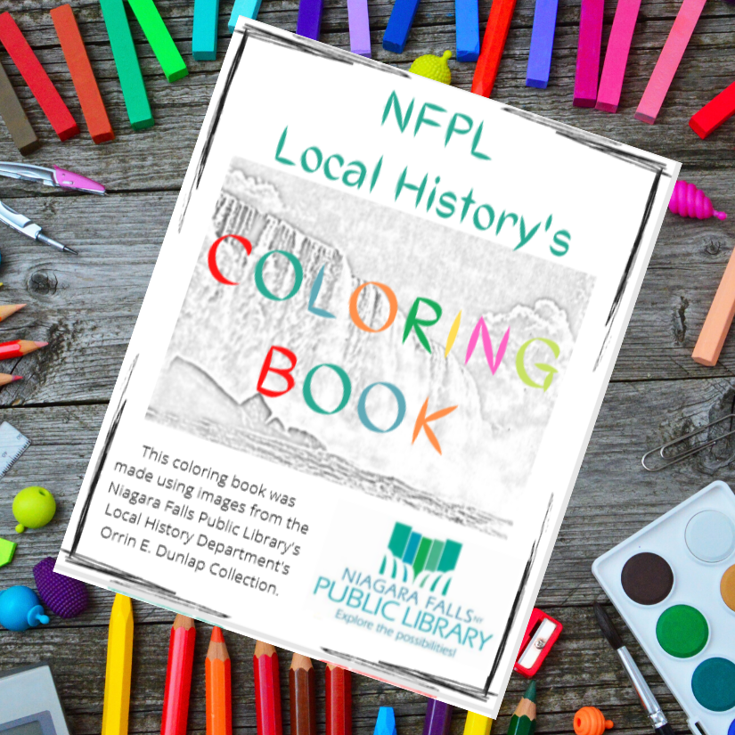NFPL's Local History Coloring Book