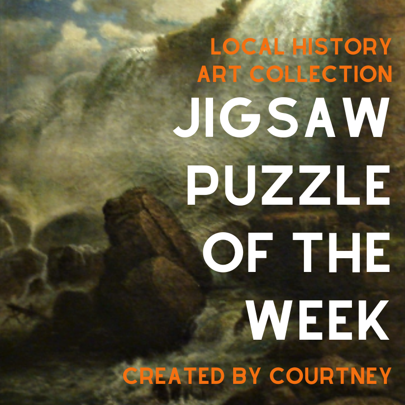 Local History Art Collection Jigsaw Puzzle of the Week. Created by Courtney.