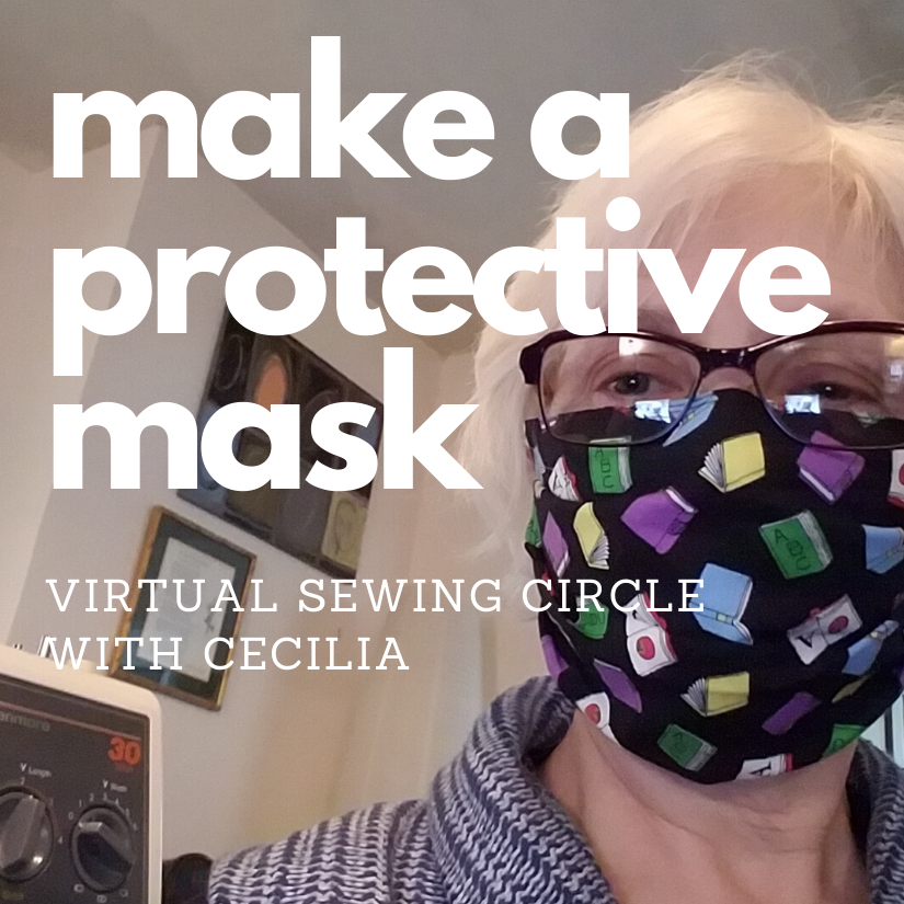 Make a protective mask with Cecilia
