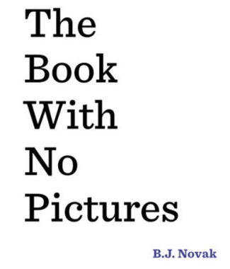 Book With No Pictures cover