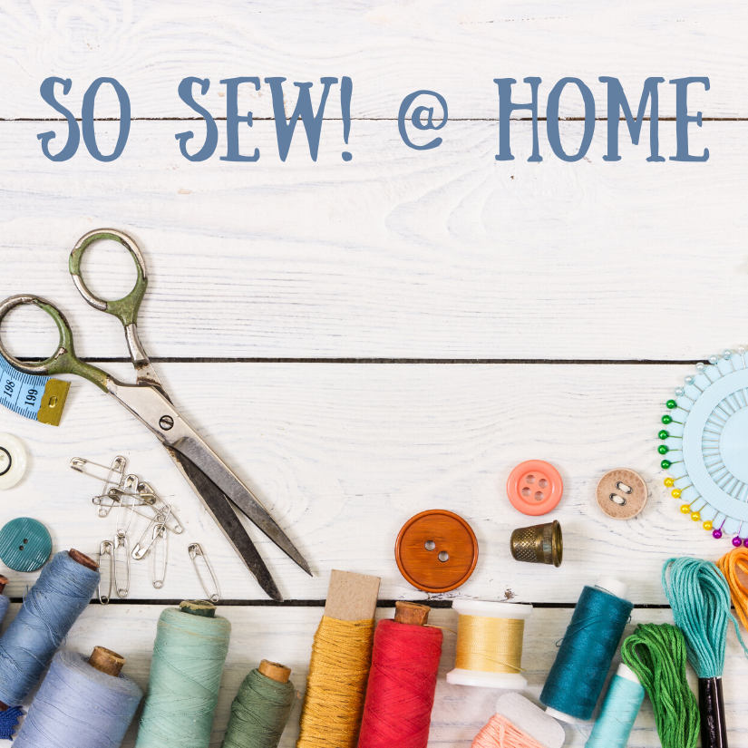 So Sew! @ Home
